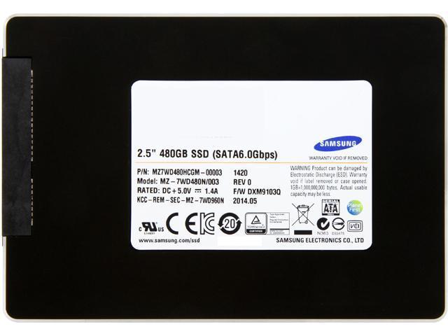 SAMSUNG SM843TN MZ7WD480HCGM-00003 2.5