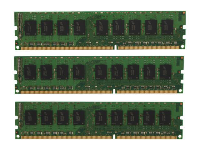 Crucial 6GB (3 x 2GB) 240-Pin DDR3 SDRAM ECC Unbuffered DDR3 1333 (PC3 10600) Triple Channel Kit Server Memory Model CT3KIT25672BA1339