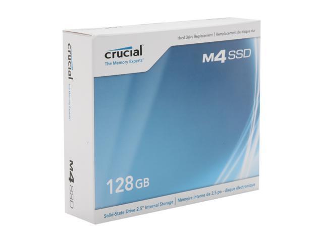 Crucial M4 CT128M4SSD2 2.5 Inch 128GB SATA III MLC Internal Solid State Drive (SSD)