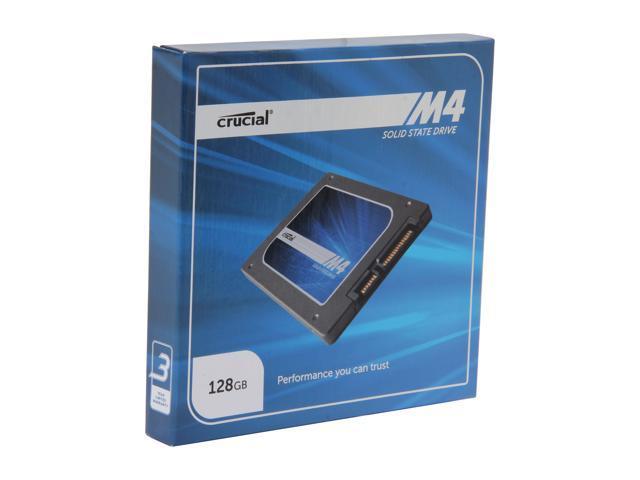 "Crucial M4 2.5"" 128GB SATA III MLC Internal Solid State Drive (SSD) CT128M4SSD2"