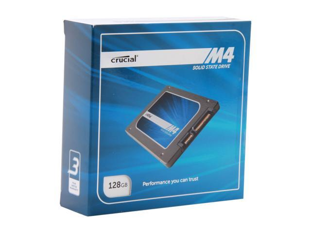 "Crucial M4 2.5"" 128GB SATA III MLC Internal Solid State Drive (SSD) CT128M4SSD2CCA"
