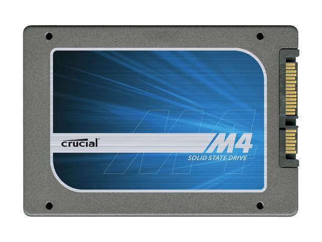 "Crucial M4 2.5"" 256GB SATA III MLC Internal Solid State Drive (SSD) CT256M4SSD2CCA"