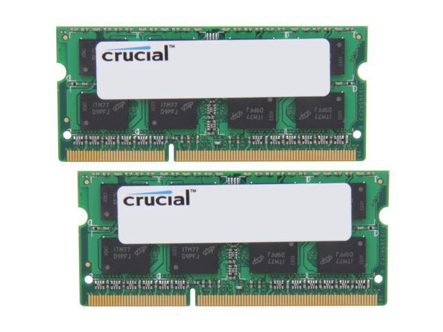 Crucial 8GB (2 x 4GB) 204-Pin DDR3 SO-DIMM DDR3L 1333 (PC3L 10600) Laptop Memory Model CT2KIT51264BF1339
