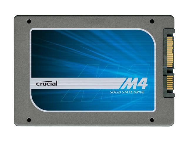 "Crucial M4 2.5"" 256GB SATA III MLC Internal Solid State Drive (SSD) CT256M4SSD2BAA"