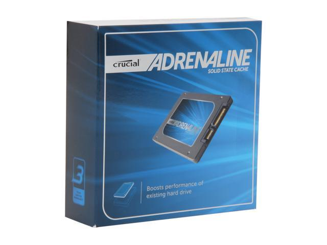 "Crucial Adrenaline 2.5"" 50GB Caching, 14GB Optimisation SATA III MLC Solid State Cache for Windows 7-based PCs CT050M4SSC2BDA"