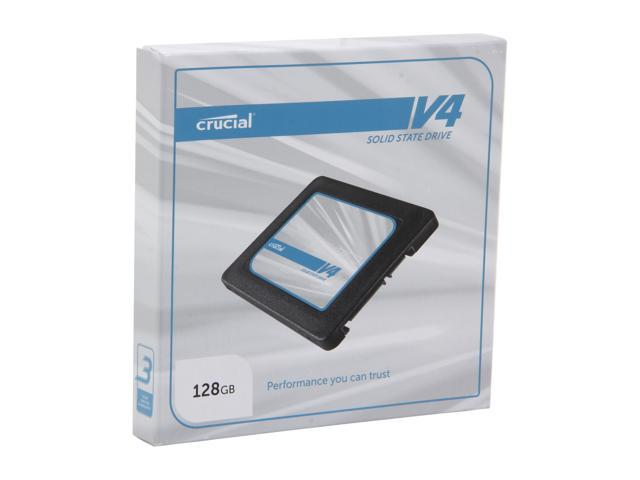 "Crucial V4 2.5"" 128GB SATA II MLC Internal Solid State Drive (SSD) SSD Only CT128V4SSD2"