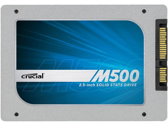 Crucial M500 CT480M500SSD1 7mm (with 9.5mm adapter) 2.5