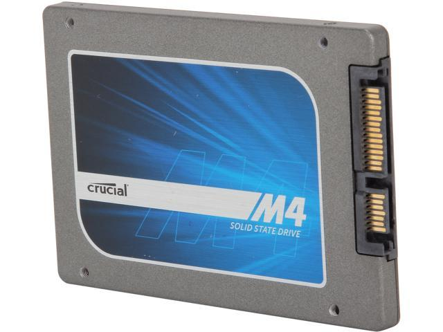 """Manufacturer Recertified Crucial M4 2.5"""" 128GB SATA III MLC 7mm Internal Solid State Drive (SSD) CT128M4SSD1"""