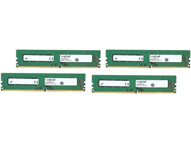 Crucial 32GB (4 x 8GB) 288-Pin DDR4 SDRAM DDR4 2133 (PC4 17000) Desktop Memory Model CT4K8G4DFD8213