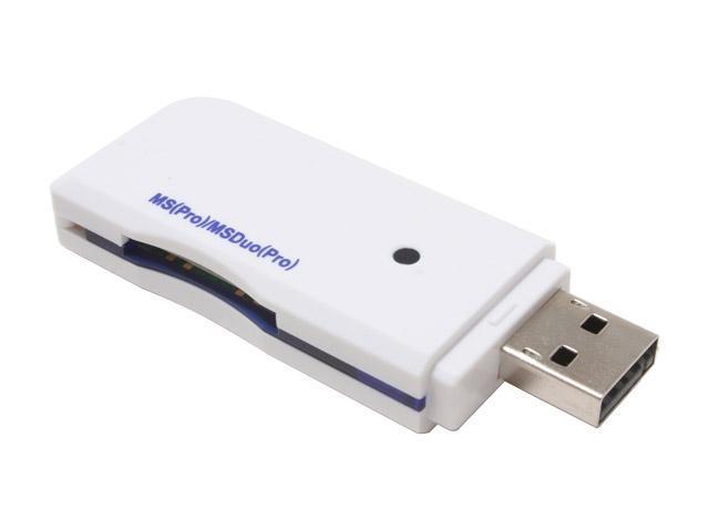 KINAMAX CR-MSDMD 1 card USB 2.0 USB 2.0 MS-DUO/MS-PRO Card Reader