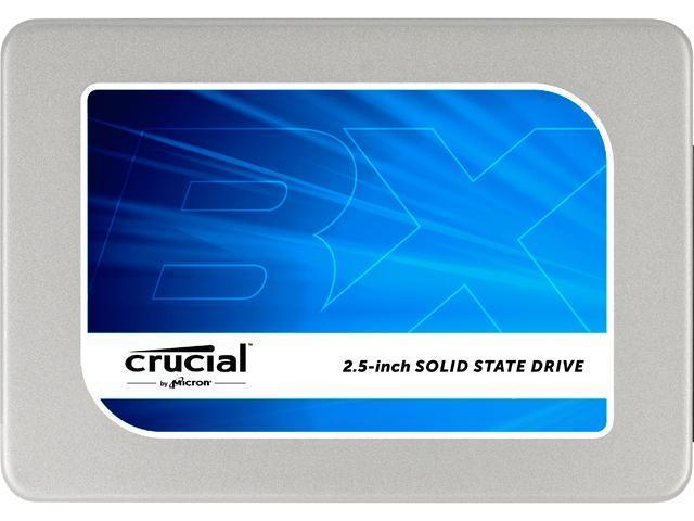 "Crucial BX200 2.5"" 480GB SATA III Internal Solid State Drive (SSD) CT480BX200SSD1"
