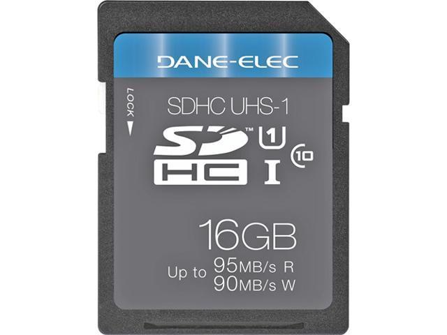 Dane-Elec 16 GB Secure Digital High Capacity (SDHC) - 1 Card