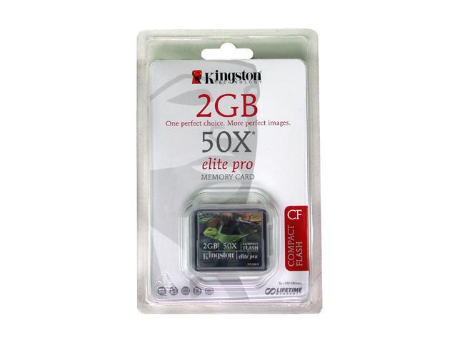 Kingston Elite Pro 2GB Compact Flash (CF) Flash Card Model CF/2GB-S