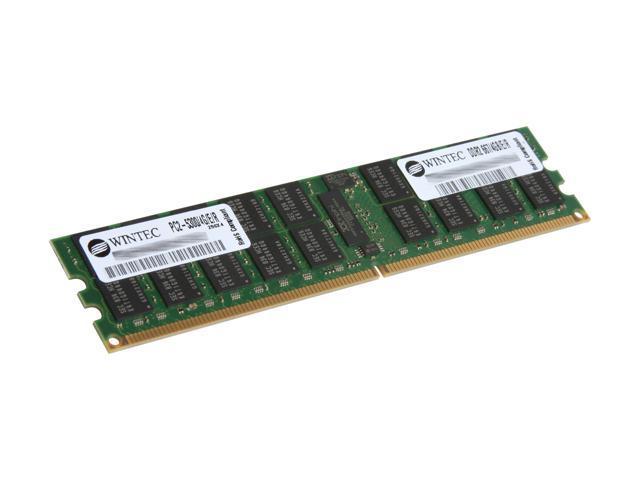 Wintec 4GB 240-Pin DDR2 SDRAM ECC Registered DDR2 667 (PC2 5300) Server Memory Model 3SRT6674REG4G