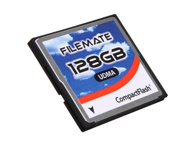 Wintec FileMate 128GB Compact Flash (CF) Flash Card Model 3FMCF128GBW-R