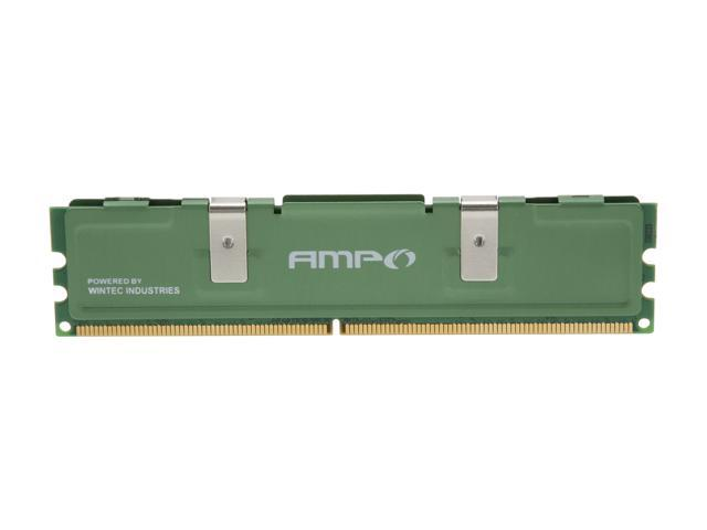 Wintec AMPO 1GB 240-Pin DDR2 SDRAM DDR2 667 (PC2 5300) Desktop Memory Model 3AMD2667-1G2-R
