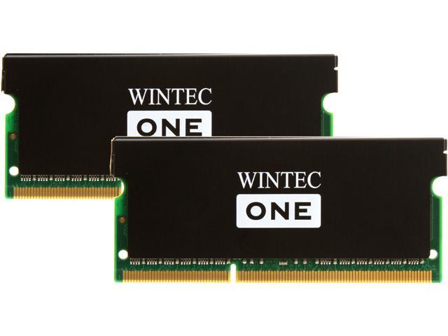 Wintec One 16GB (2 x 8G) 204-Pin DDR3 SO-DIMM DDR3L 1600 (PC3L 12800) Laptop Memory Model 3OL160011S9H-16GK