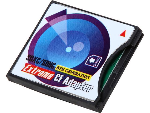 Link Depot LD-SD-CF CF TypeII SD/SDHC CF Card Adapter