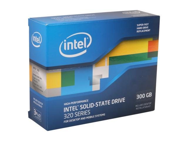 "Intel 320 Series 2.5"" 300GB SATA II MLC Internal Solid State Drive (SSD) SSDSA2CW300G3K5"
