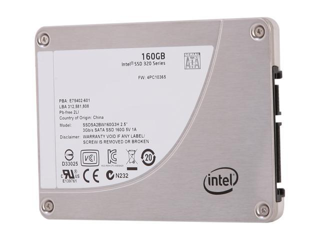 Manufacturer Recertified Intel 320 Series 2.5
