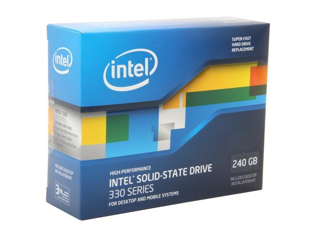 "Intel 330 Series 2.5"" 240GB SATA III MLC Internal Solid State Drive (SSD) SSDSC2CT240A3K5"