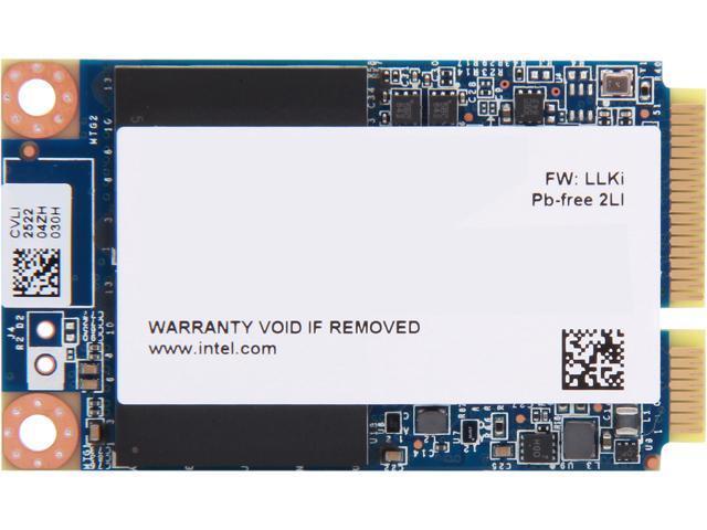 Intel 525 Series Lincoln Crest SSDMCEAC030B301 mSATA 30GB SATA III MLC Internal Solid State Drive (SSD) - OEM