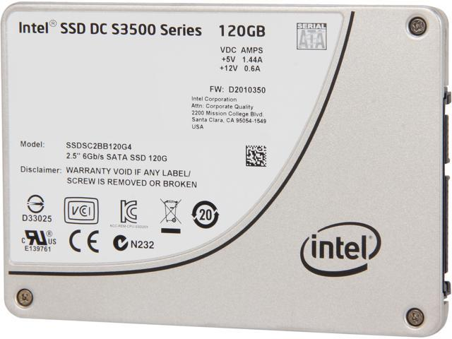 Intel DC S3500  Series 2.5