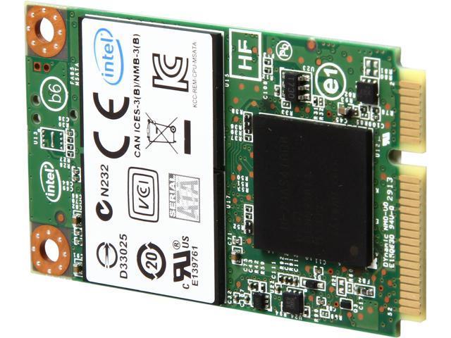 Intel 530 Series SSDMCEAW240A401 240GB Mini-SATA (mSATA) MLC Internal Solid State Drive (SSD)