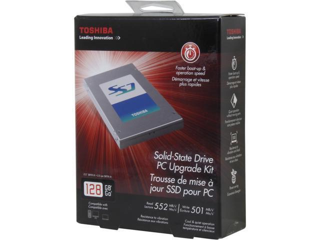 Toshiba 128GB SATA III Internal Solid State Drive (SSD) HDTS212XZSWA
