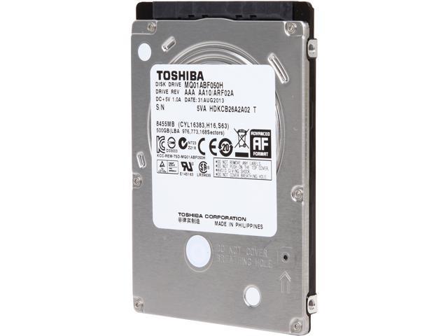 TOSHIBA MQ01ABF050H 500GB/SLC 8GB 5400 RPM 32MB Cache SATA 6.0Gb/s 2.5