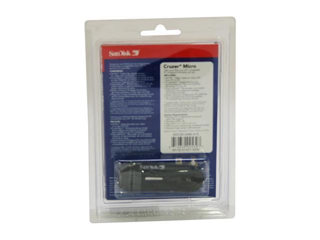 SanDisk Cruzer Micro U3 4GB Flash Drive (USB2.0 Portable) Model SDCZ6-4096-A10