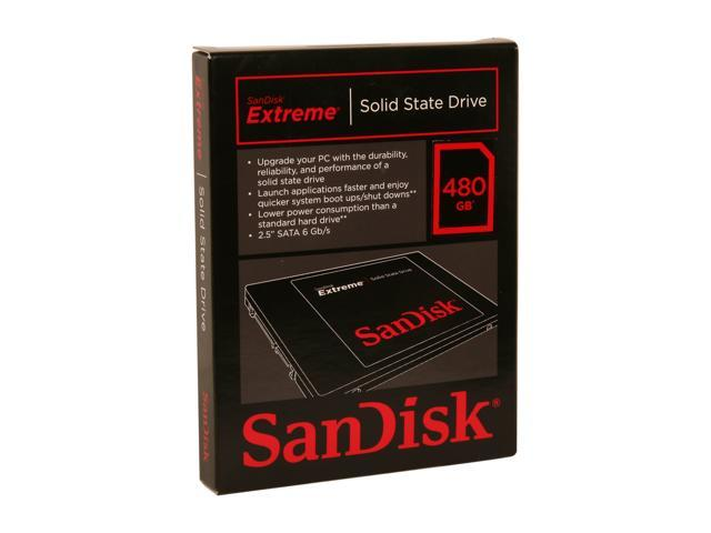 "SanDisk Extreme 2.5"" 480GB SATA III Internal Solid State Drive (SSD) SDSSDX-480G-G25"