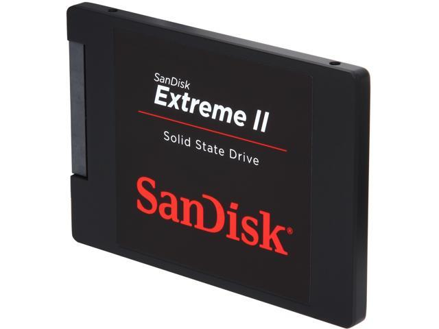 "SanDisk Extreme II 2.5"" 120GB SATA III Internal Solid State Drive (SSD) SDSSDXP-120G-G25"