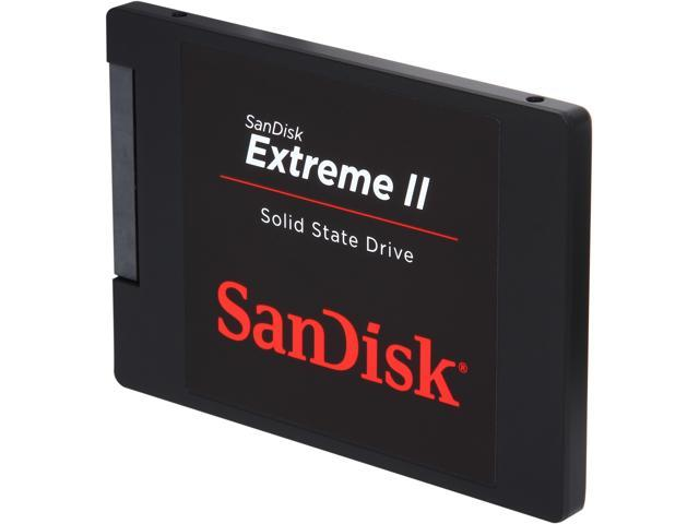 "SanDisk Extreme II 2.5"" 240GB SATA III Internal Solid State Drive (SSD) SDSSDXP-240G-G25"