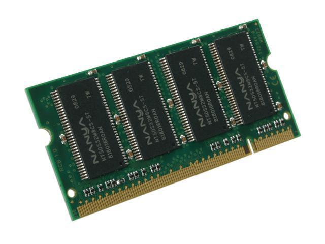 Kingston ValueRAM 256MB 200-Pin DDR SO-DIMM DDR 333 (PC 2700) Laptop Memory Model KVR333X64SC25/256