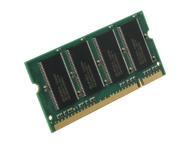 Kingston ValueRAM 512MB 200-Pin DDR SO-DIMM DDR 400 (PC 3200) Laptop Memory Model KVR400X64SC3A/512