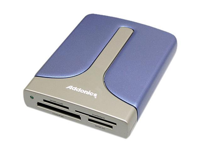 Addonics AEPDDESU 15-in-1 Flash eSATA/USB 2.0 Card Reader/Writer