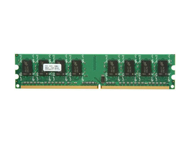 PNY Optima 2GB 240-Pin DDR2 SDRAM DDR2 667 (PC2 5300) Desktop Memory Model MD2048SD2-667