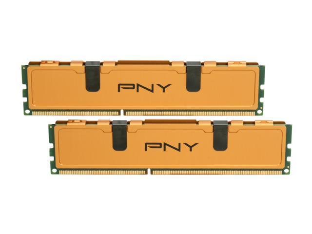 PNY Optima 4GB (2 x 2GB) 240-Pin DDR3 SDRAM DDR3 1333 (PC3 10666) Desktop Memory Model MD4096KD3-1333