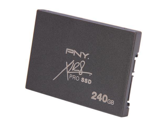 """PNY XLR8 PRO 2.5"""" 240GB SATA III Internal Solid State Drive (SSD) SSD9SC240GCDA-RB"""