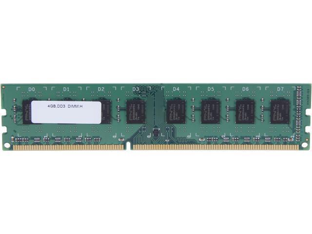PNY 4GB 240-Pin DDR3 SDRAM DDR3 1333 (PC3 10666) Desktop Memory Model MD4096SD3-1333-NHS-V2