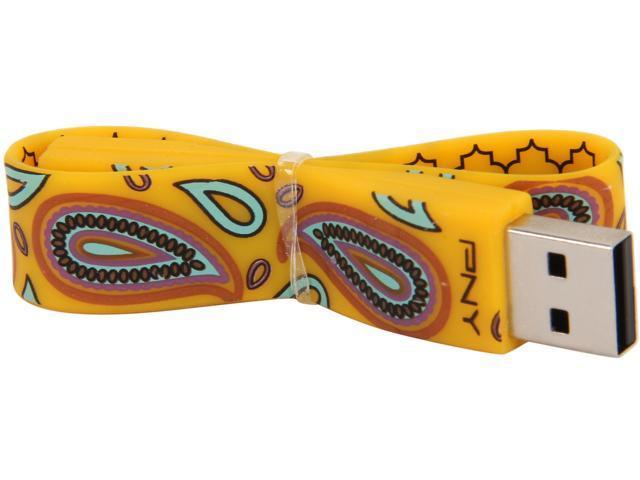 PNY 8GB USB 2.0 Flash Drive Model FDU8GBBRACP-PNK