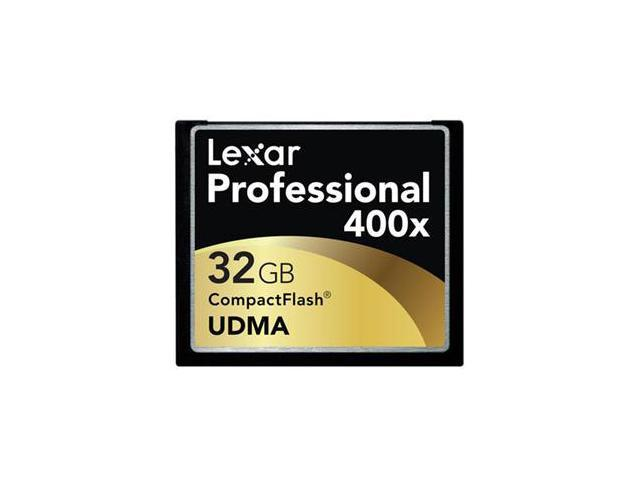Lexar 32GB Compact Flash (CF) Flash Card Model LCF32GCRBNA400