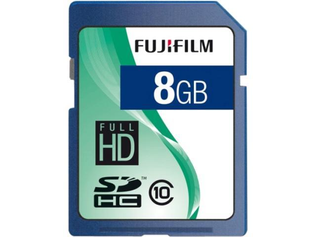 FUJIFILM 8GB Secure Digital High-Capacity (SDHC) Flash Card Model 600008927