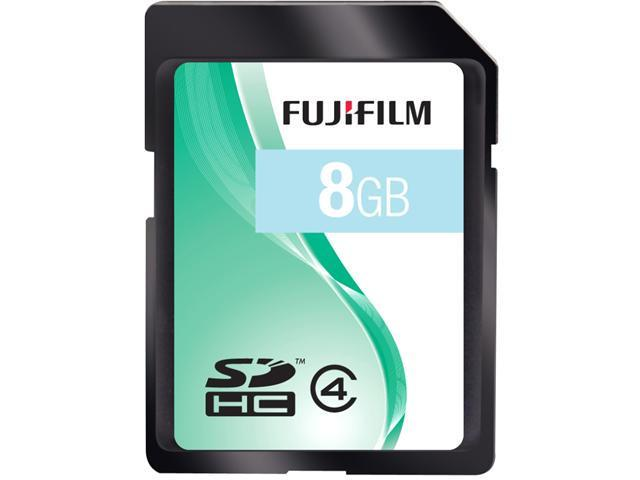 FUJIFILM 8GB Secure Digital High-Capacity (SDHC) Flash Card Model 600008956