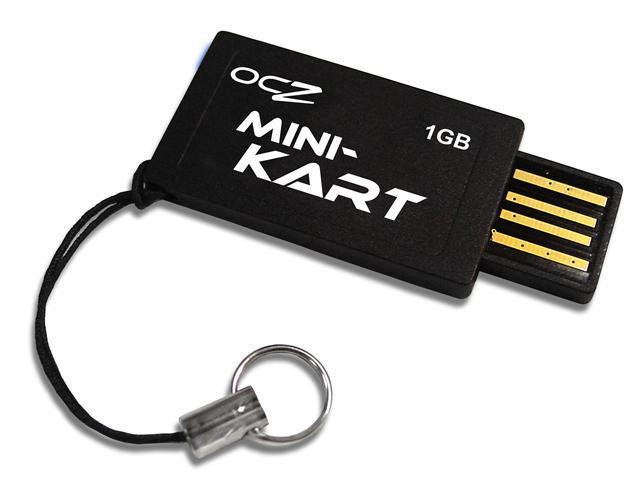 OCZ Ultra-Slim Mini-Kart 1GB Flash Drive (USB2.0 Portable) Model OCZUSBM-1GB