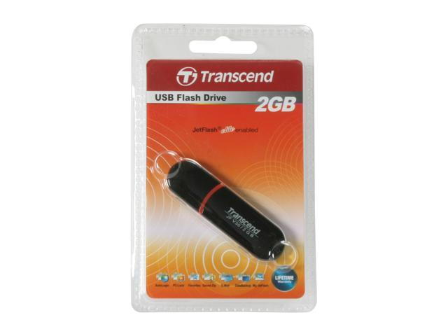 Transcend JetFlash V30 2GB Flash Drive (USB2.0 Portable) Model TS2GJFV30