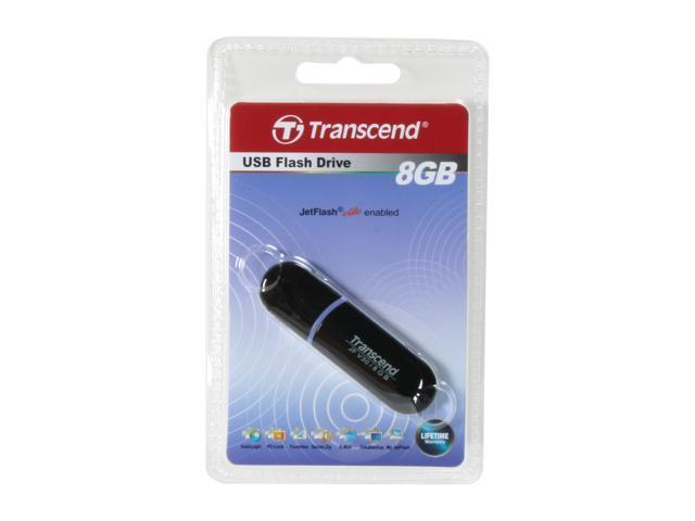 Transcend JetFlash V30 8GB Flash Drive (USB2.0 Portable) Model TS8GJFV30