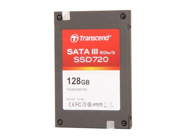 """Transcend SSD720 2.5"""" 128GB SATA III MLC Internal Solid State Drive (SSD) TS128GSSD720"""