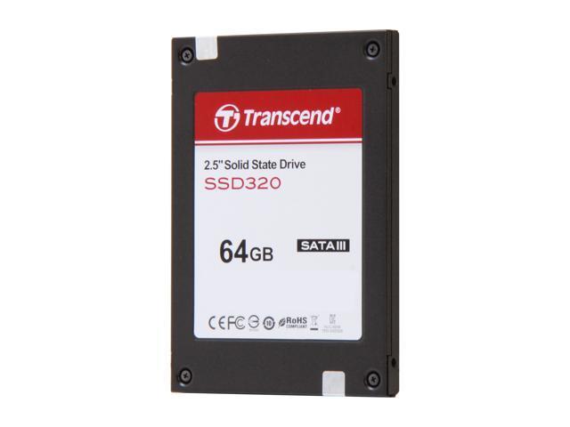 """Transcend 2.5"""" 64GB SATA III Internal Solid State Drive (SSD) TS64GSSD320"""